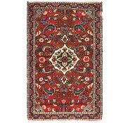 Link to 2' 6 x 4' 2 Hamedan Persian Rug