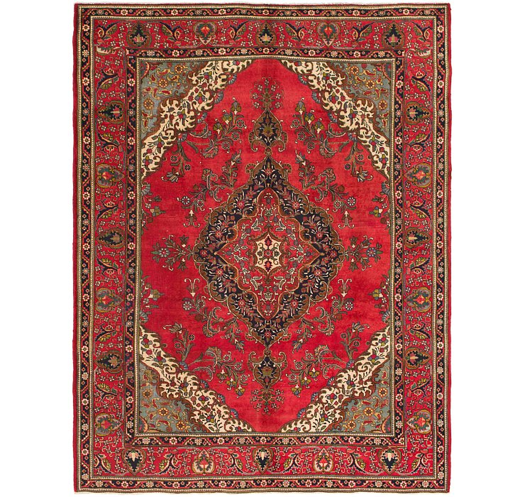 9' 9 x 12' 6 Tabriz Persian Rug