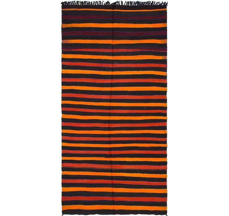 4' 6 x 9' 6 Moroccan Runner Rug