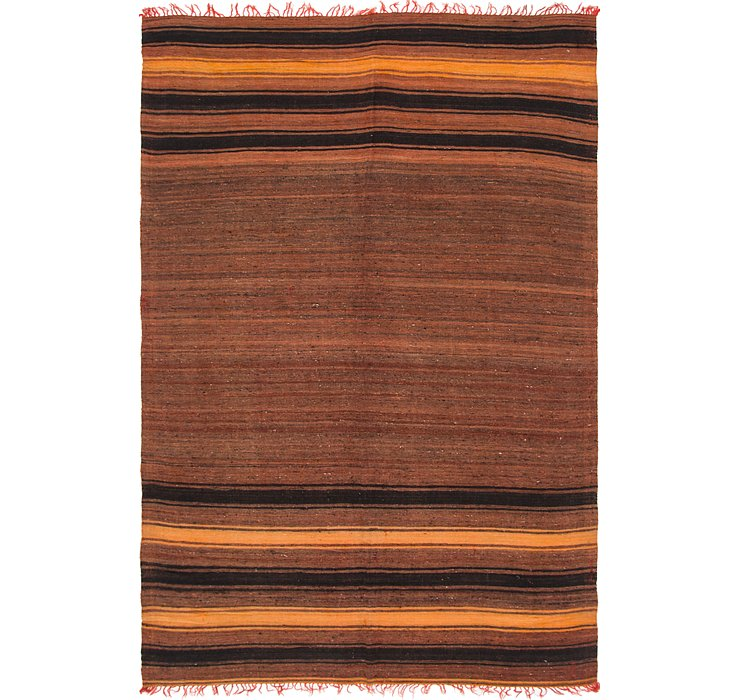 6' 4 x 9' 4 Moroccan Rug