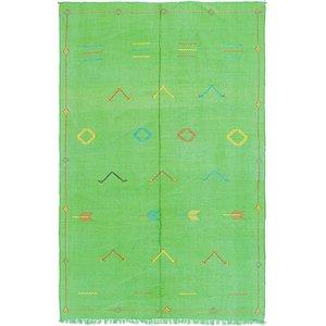 Unique Loom 5' 6 x 9' Moroccan Oriental Rug