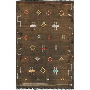 Unique Loom 6' x 9' 5 Moroccan Oriental Rug