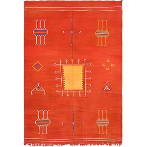 Link to 188cm x 275cm Moroccan Oriental Rug item page