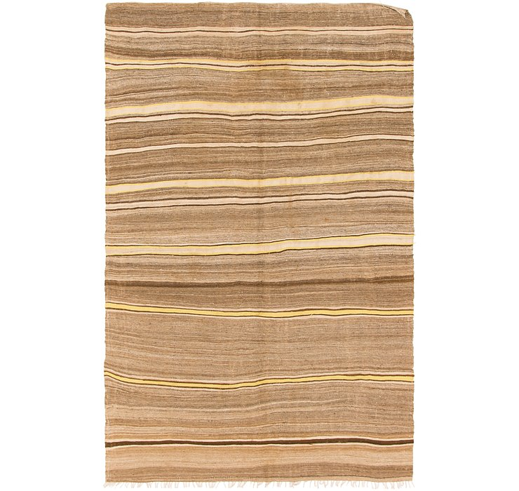 HandKnotted 5' 4 x 8' 8 Moroccan Rug