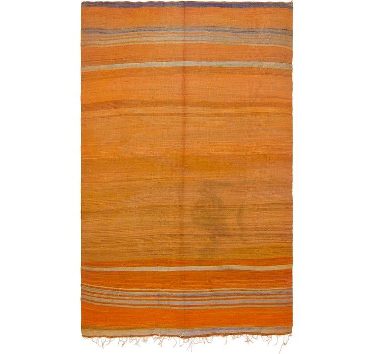 5' 4 x 9' 2 Moroccan Rug