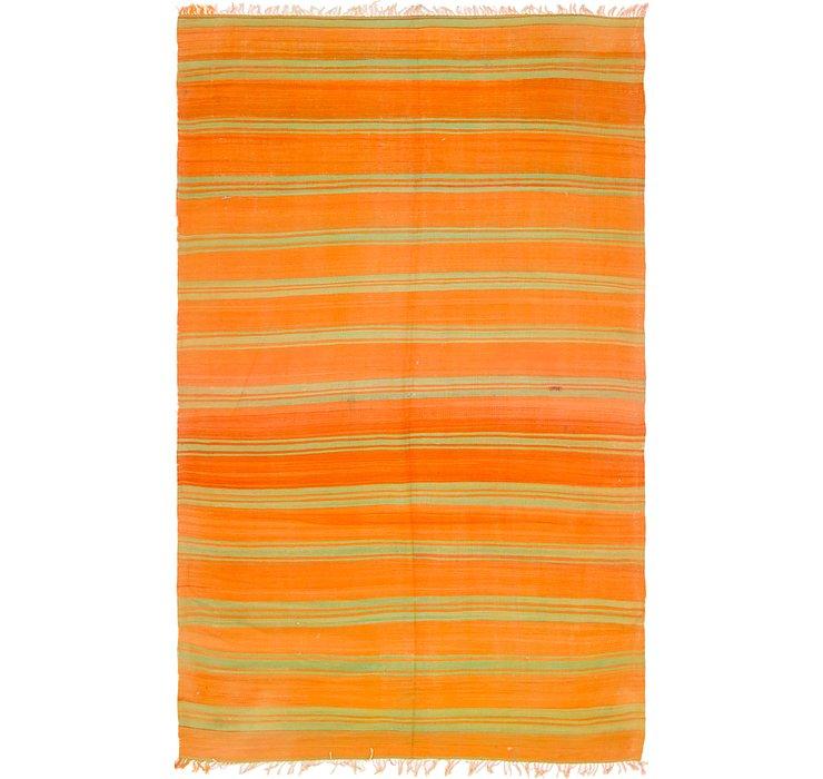 5' x 8' 7 Moroccan Rug