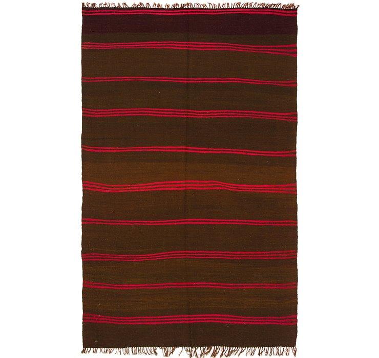 5' 8 x 9' 5 Moroccan Rug