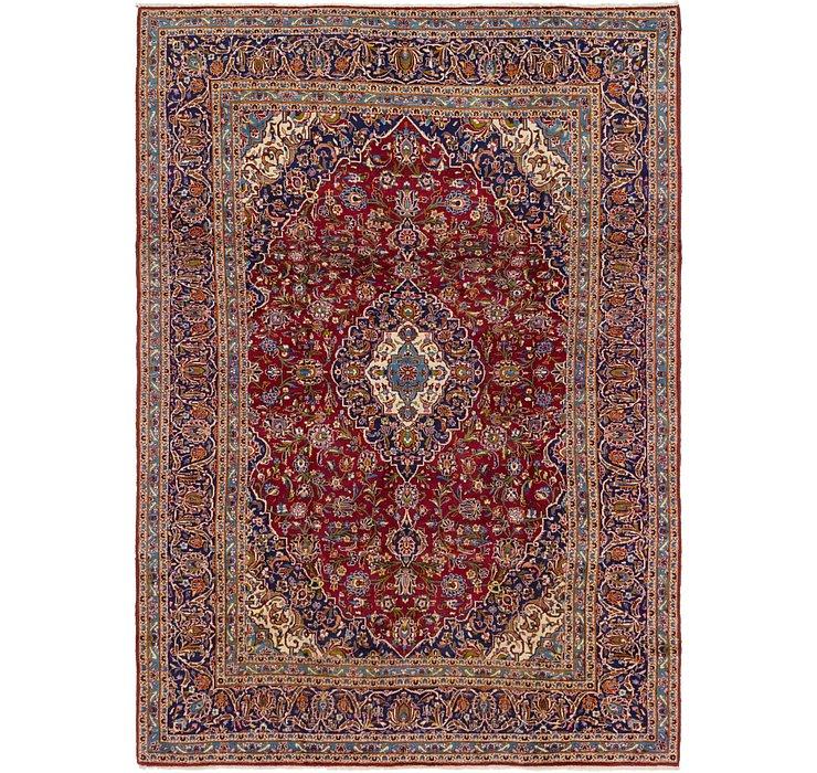 8' 4 x 11' 9 Kashan Persian Rug