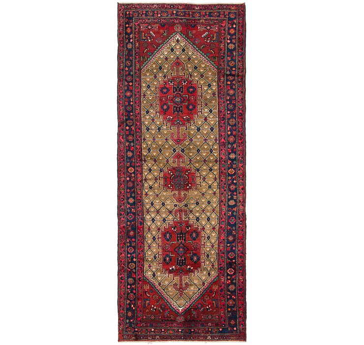 4' x 10' 9 Koliaei Persian Runner ...