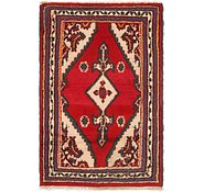 Link to 2' 2 x 3' 4 Hamedan Persian Rug