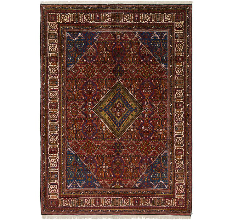 7' 7 x 11' Joshaghan Persian Rug