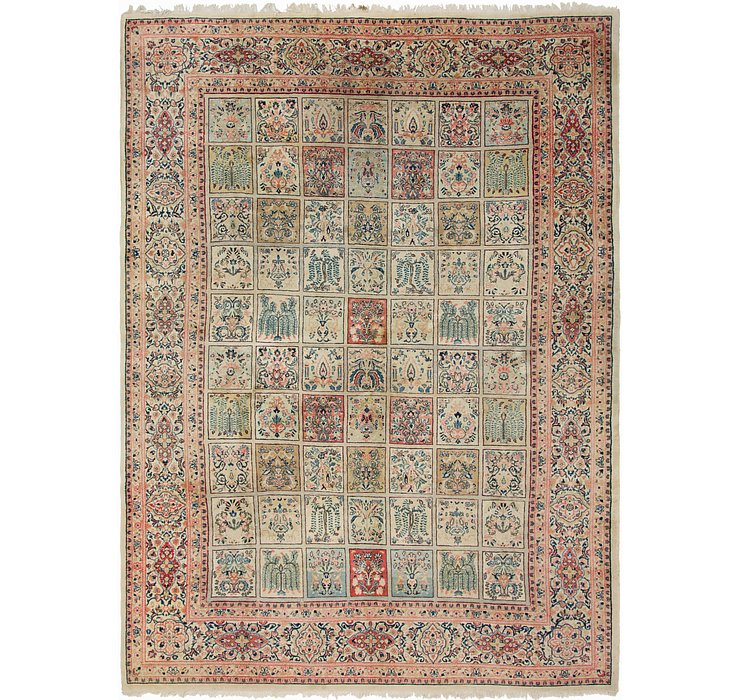 HandKnotted 10' 3 x 14' Sarough Persian Rug