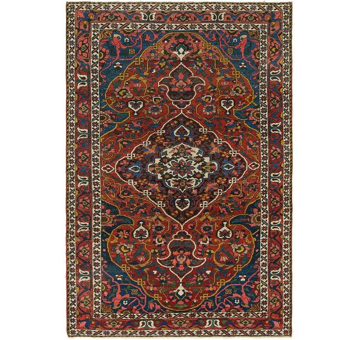 4' 7 x 6' 10 Bakhtiari Persian Rug