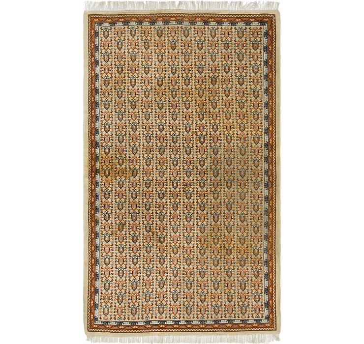 4' 10 x 8' 2 Moroccan Oriental Rug