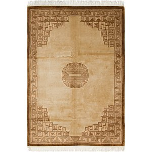 6' x 9' 3 Antique Finish Rug