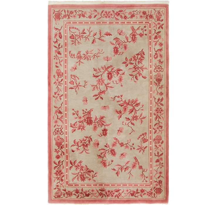 5' x 8' 4 Antique Finish Rug