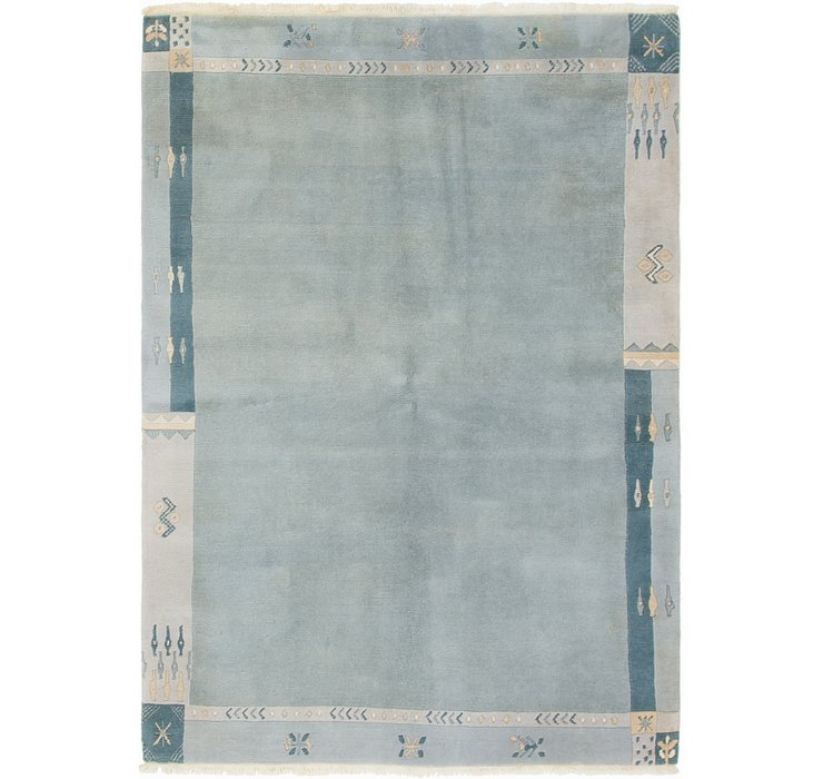 HandKnotted 5' 9 x 8' Nepal Rug