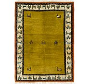 Link to 5' 6 x 7' 9 Shiraz-Gabbeh Persian Rug