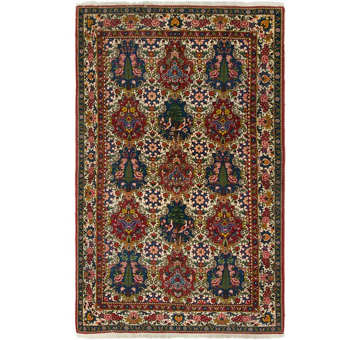 5' 4 x 8' 7 Bakhtiar Persian Rug