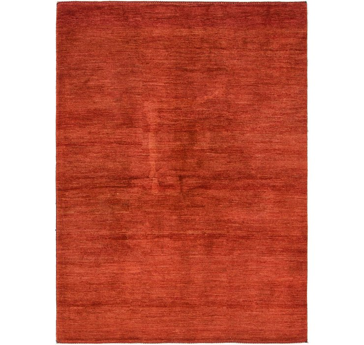 HandKnotted 5' 6 x 7' 7 Shiraz-Gabbeh Persian Rug