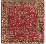 Link to 9' 9 x 9' 10 Tabriz Persian Square Rug