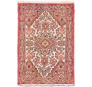 Link to 60cm x 85cm Hossainabad Persian Rug