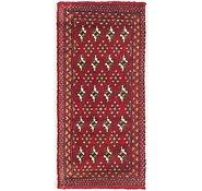 Link to 1' 7 x 3' 7 Torkaman Persian Rug