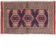 Link to 1' 9 x 3' Bokhara Rug