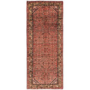 Link to 3' 6 x 9' Hossainabad Persian Ru... item page