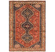 Link to 3' 6 x 5' Shiraz Persian Rug