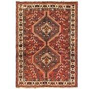 Link to 107cm x 152cm Shiraz Persian Rug