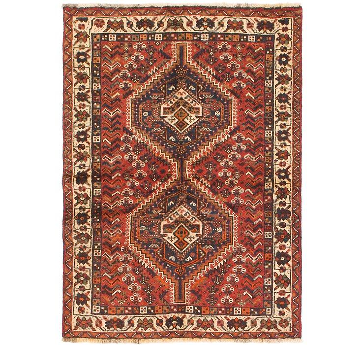 3' 6 x 5' Shiraz Persian Rug