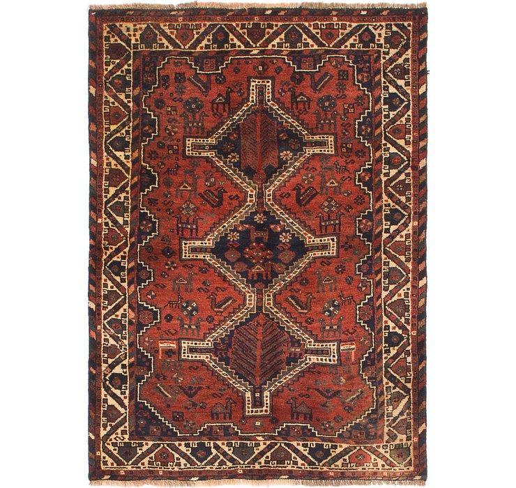 3' 8 x 5' 3 Shiraz Persian Rug