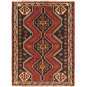 Link to 112cm x 152cm Shiraz Persian Rug item page