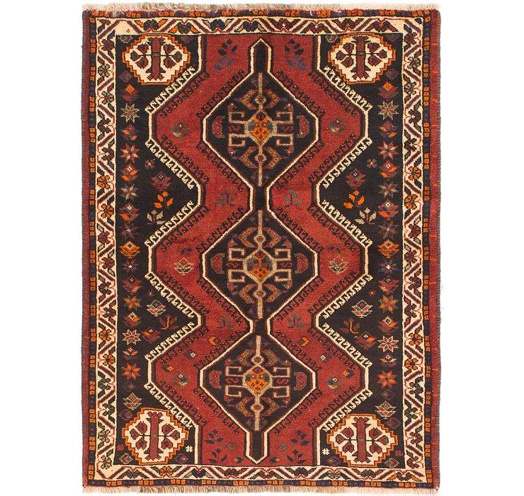 3' 8 x 5' Shiraz Persian Rug