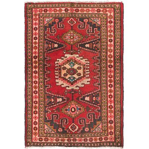 3' 5 x 5' 2 Viss Persian Rug