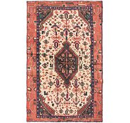 Link to 105cm x 175cm Mazlaghan Persian Rug