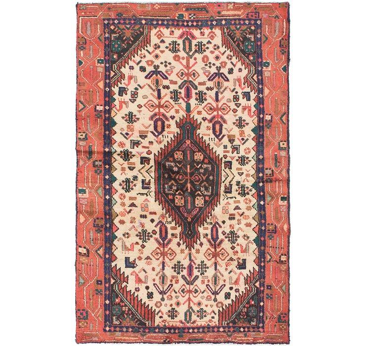 3' 5 x 5' 9 Mazlaghan Persian Rug