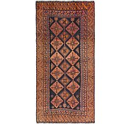 Link to 4' 3 x 9' Shiraz Persian Runner Rug