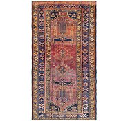 Link to 4' 10 x 9' 5 Shiraz Persian Runner Rug