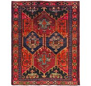 Link to 6' x 6' 3 Shiraz-Lori Persian Square Rug