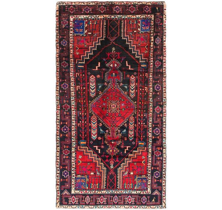 4' 9 x 9' 4 Tuiserkan Persian Runne...