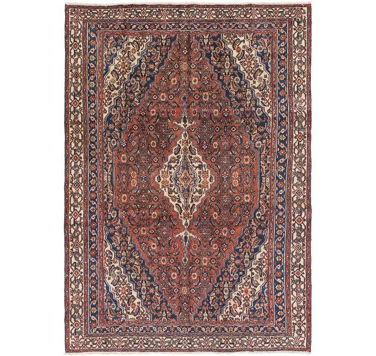 7' 4 x 10' 8 Hamedan Persian Rug