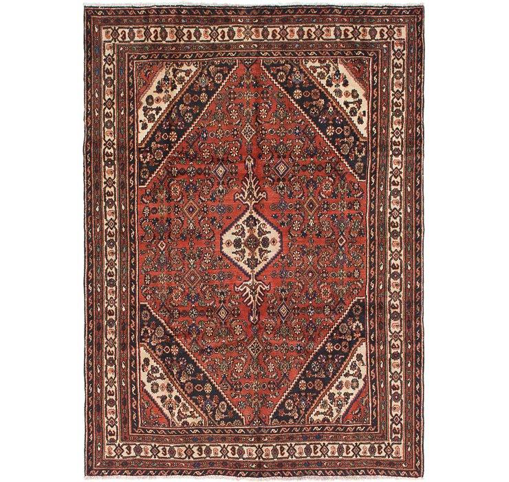 6' 8 x 9' 7 Hamedan Persian Rug