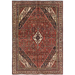 Link to 6' 6 x 9' 4 Joshaghan Persian Rug item page