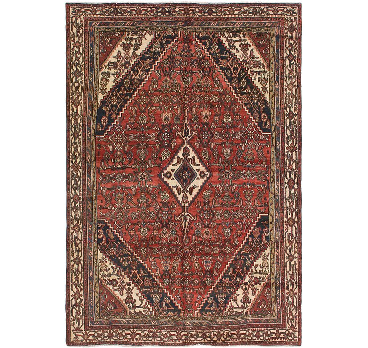 198cm x 285cm Joshaghan Persian Rug