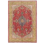 Link to 6' 9 x 9' 8 Qom Persian Rug