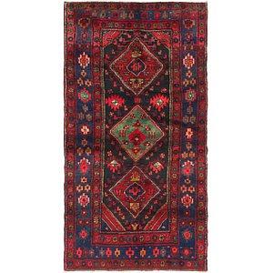 3' 9 x 7' 4 Zanjan Persian Runner Rug