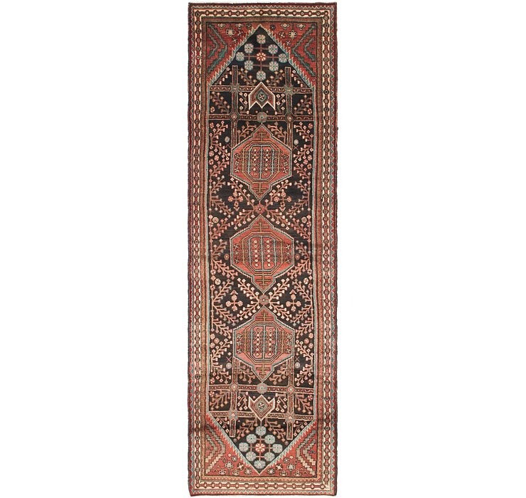 3' 6 x 12' Hamedan Persian Runner ...