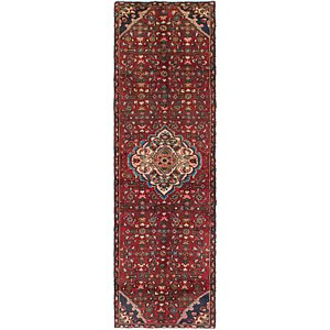 Link to 2' 8 x 9' Hossainabad Persian Ru... item page